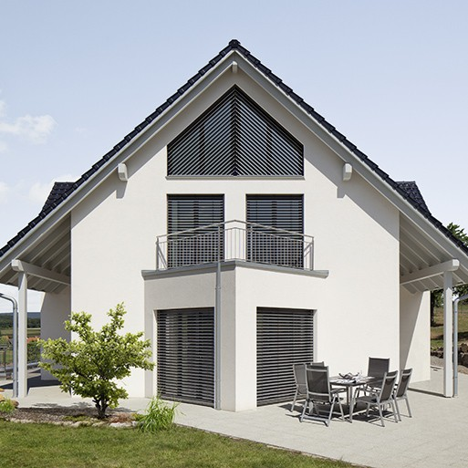 Brise-soleil orientables - pose traditionnelle